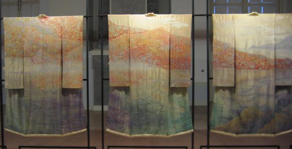 Преображение кимоно: искусство Итику Куботы