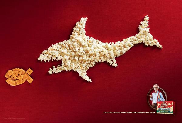 Реклама попкорна