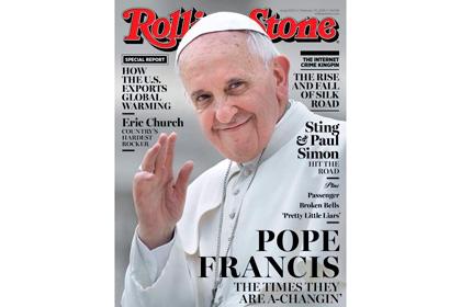 Обложка журнала Rolling Stone