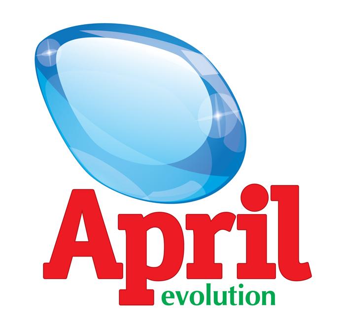 Обновленный дизайн псредств для стирки April Evolution