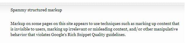 Google будет вручную наказывать за спам в расширенных сниппетах