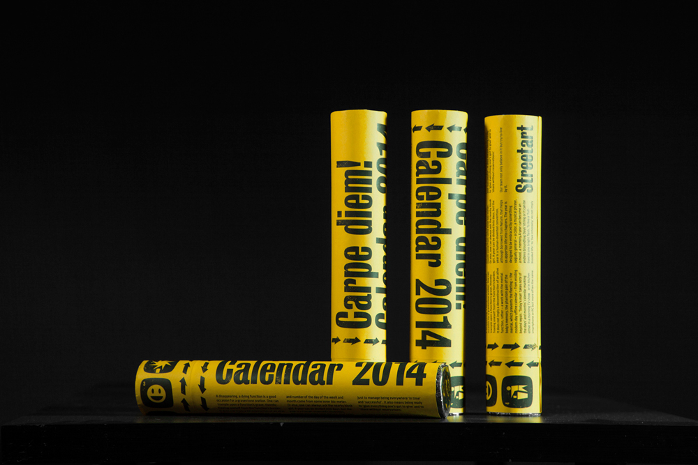 Календарь-конфетти - carpe diem – 2014