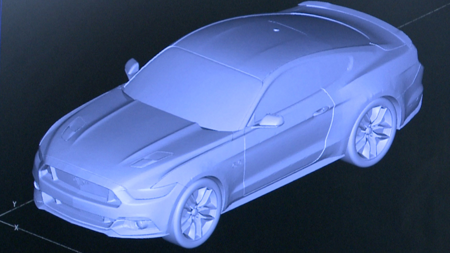 Съедобные машины Mustang