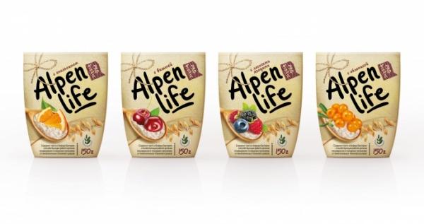 Бренд нового био – продукта «Alpenlife»