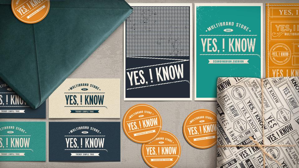 Проект по созданию ритейл-бренда – «Yes, Iknow»