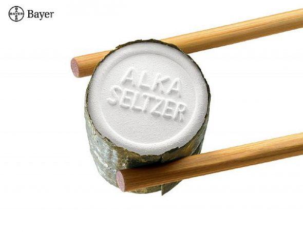 Печатная реклама Alka Seltzer