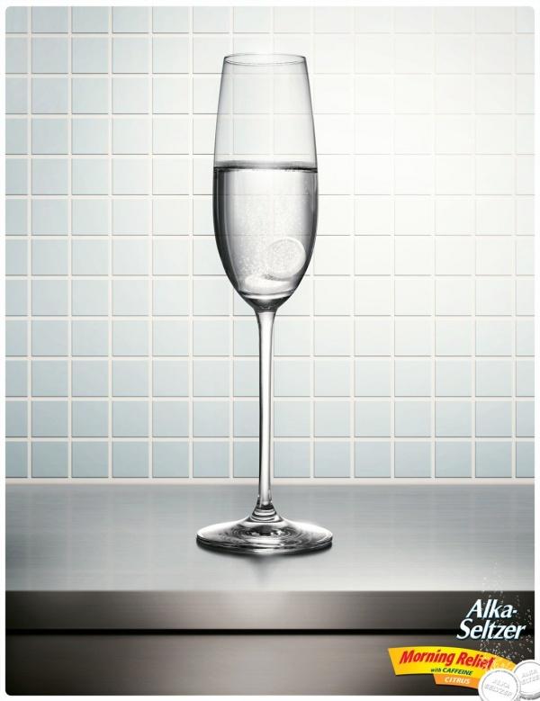 Новогодняя реклама Alka Seltzer