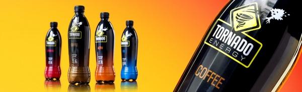 Дизайн упаковки энергетического напитка «Tornado Energy»