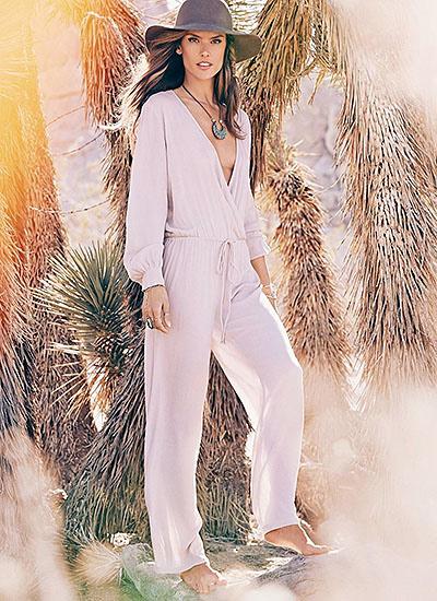 Новые снимки из рекламной кампании модного бренда Алессандры Амбросио