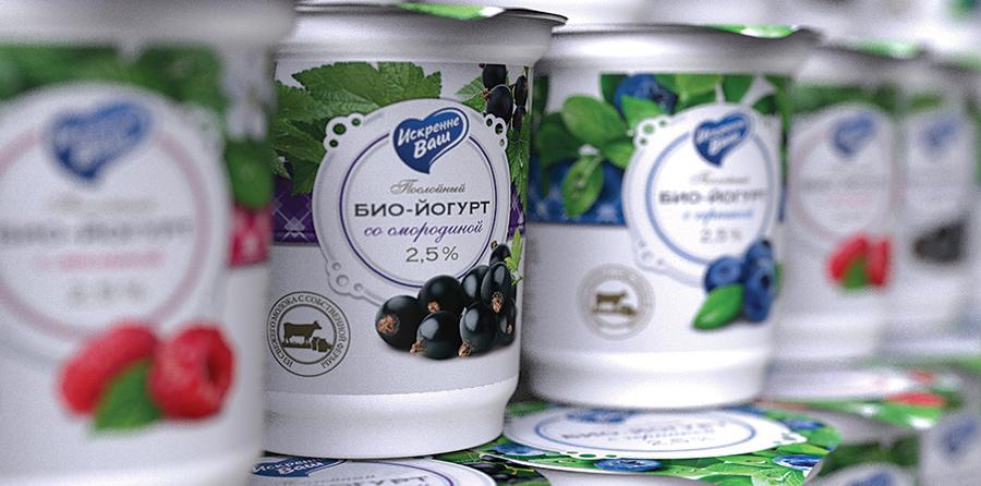 Дизайн для йогуртов