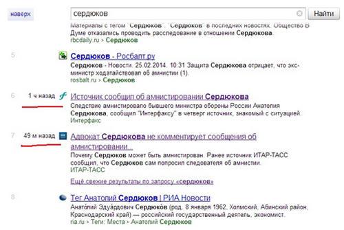 Примеси к органической выдаче Яндекса