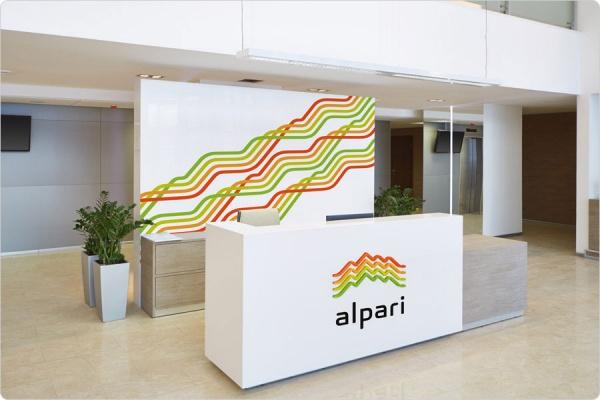Фирменный паттерн компании «Альпари»