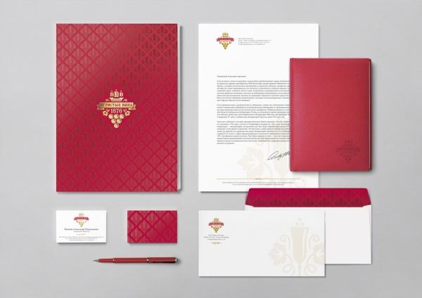 Редизайн логотипа для «Игристых Вин»