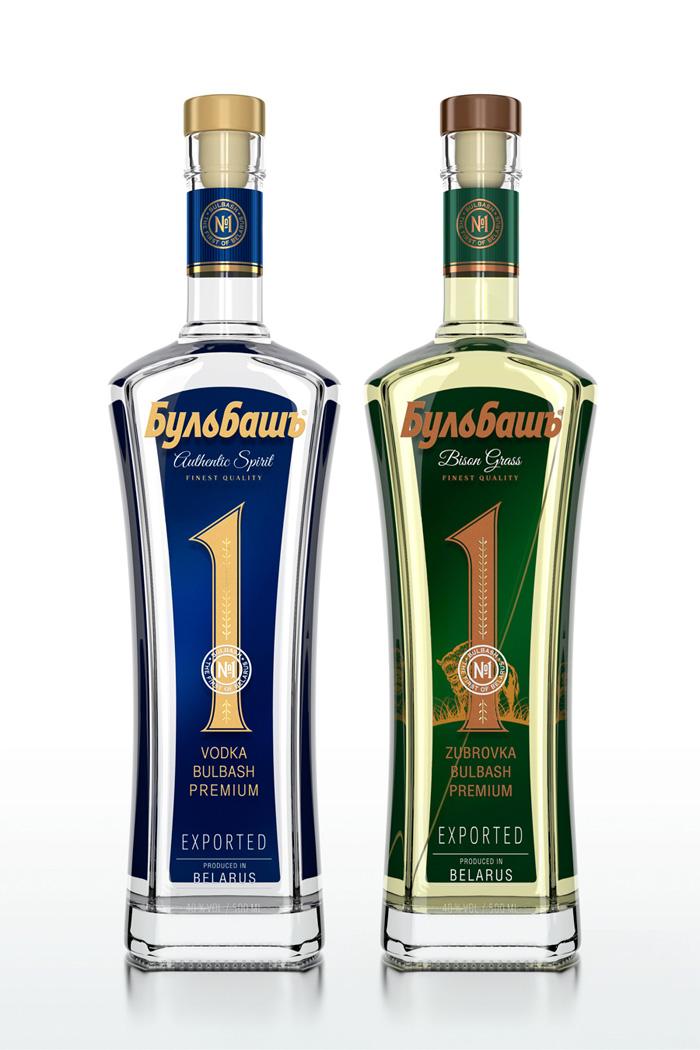 Премиальная водка «Бульбашъ» от Armbrand