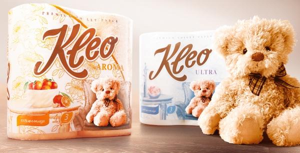 Новая торговая марка бумажной продукции «Kleo»