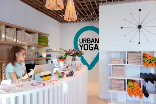 фирменный стиль студии «Urban Yoga»