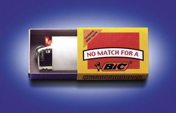 Реклама на спичечных коробках
