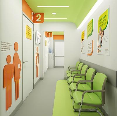 Фирменный стиль сети медицинских клиник «Доктор рядом»