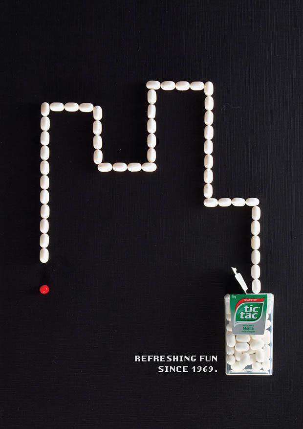 Tic Tac воздает честь видеоиграм девяностых в своей новой рекламной кампании