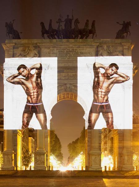 Криштиану Роналду в новой рекламе нижнего белья CR7