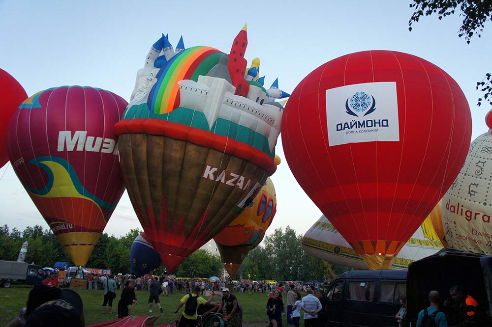 ГК «Даймонд» и «VALENKI» взмыли ввысь на фестивале аэростатов Небо Святого Сергия