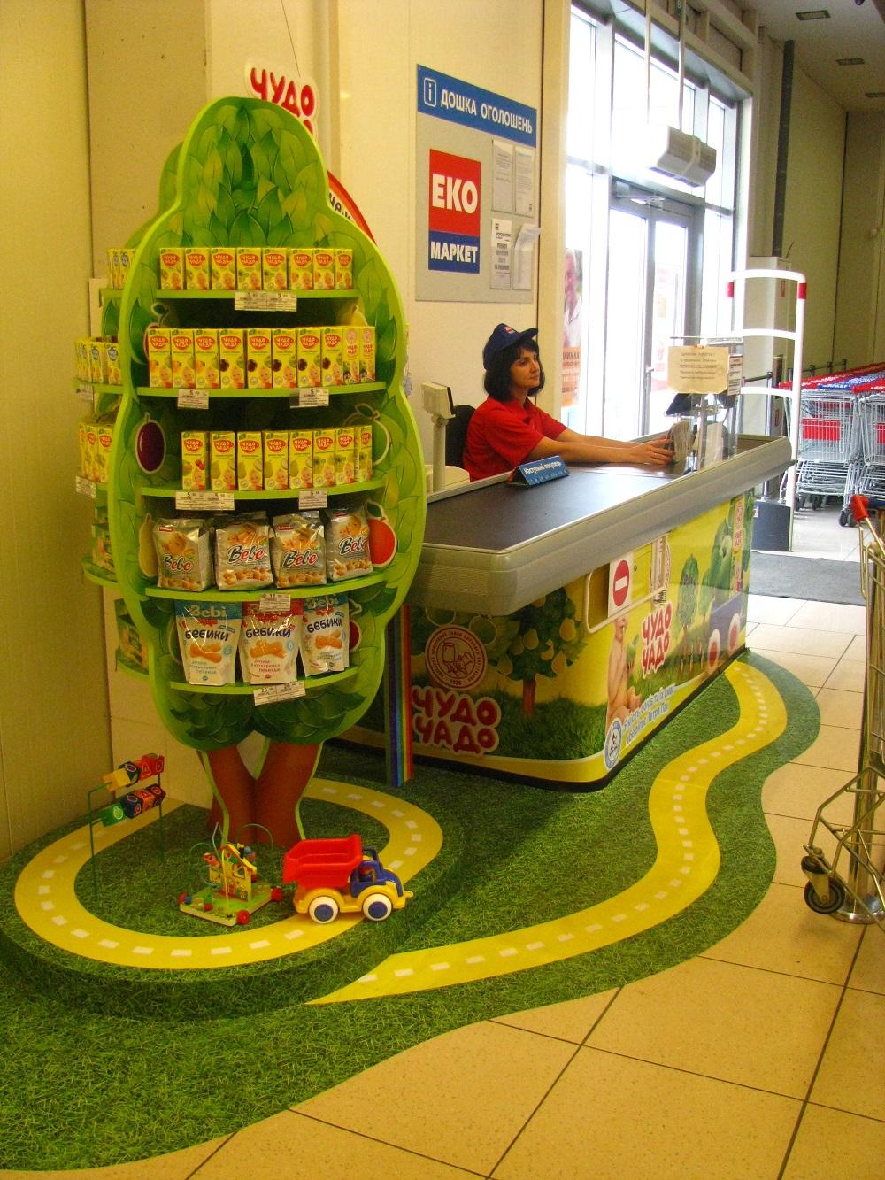 В Сети «ЭКО маркет» появились «детские» кассы