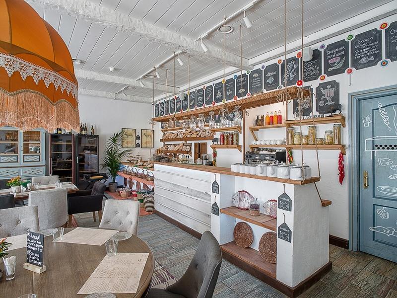 Креативное агентство С-Mind разработало фирменный стиль для ресторана Legran Village
