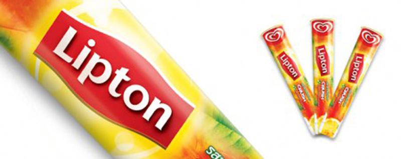 Мороженое со вкусом чая от Lipton