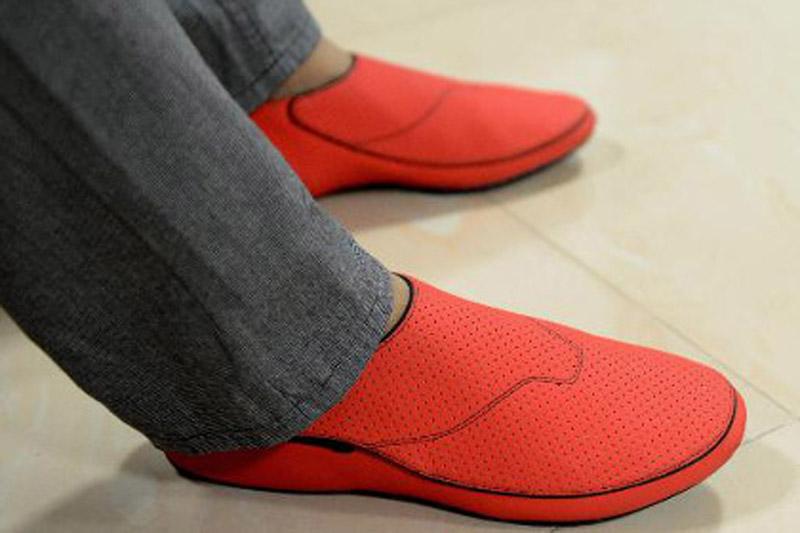 Обувь-навигатор из Индии