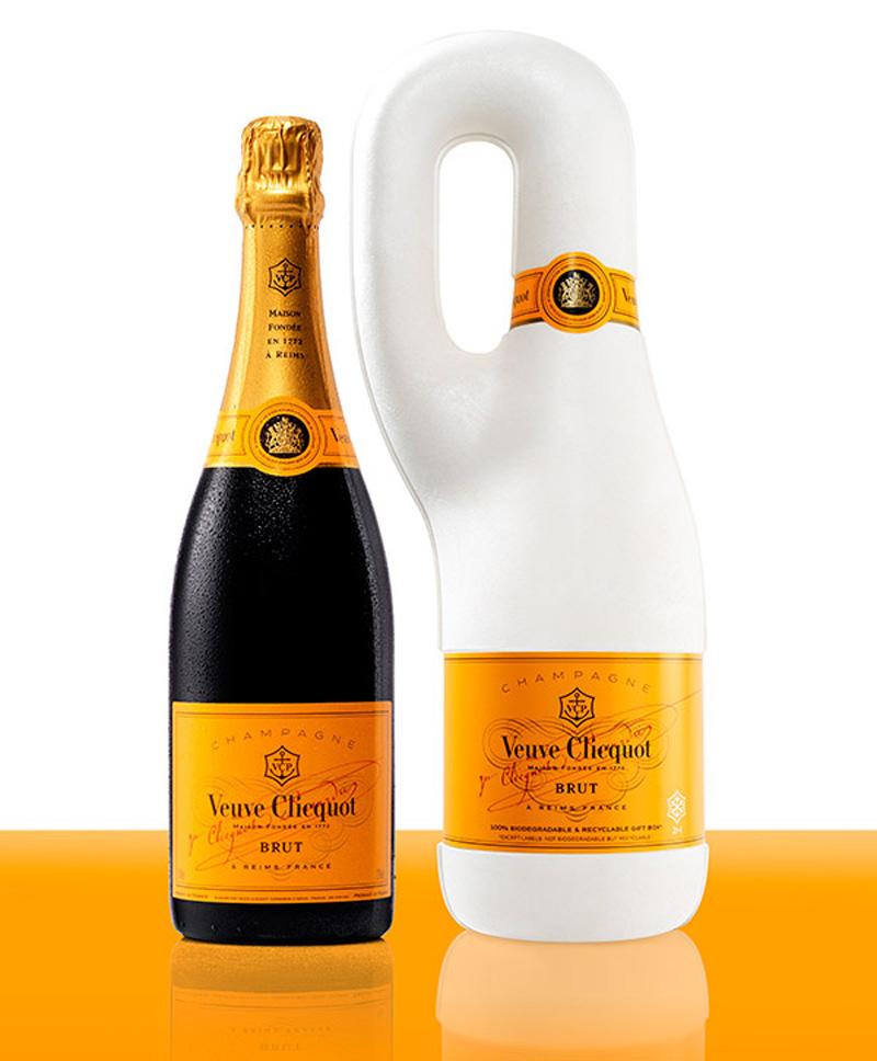 Биоразлагаемая упаковка для шампанского