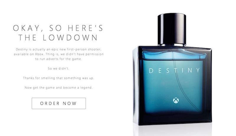 Microsoft под видом духов рекламировал новую игру