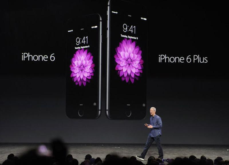 Apple представила iPhone 6 и iPhone 6 plus