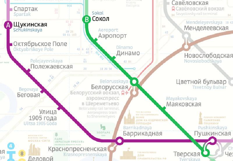 Схема московского метро станет