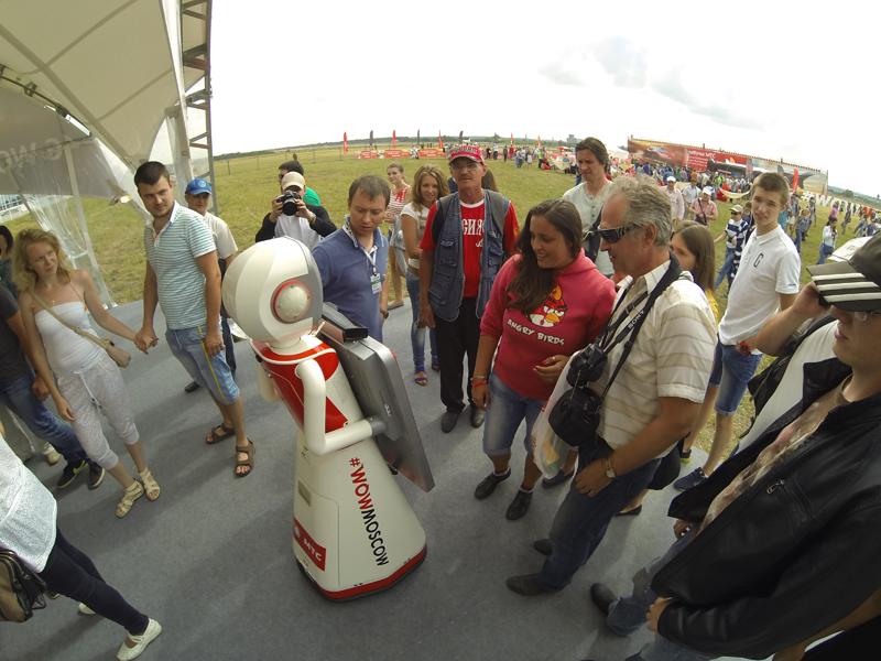 Роботы вступают в рекламу