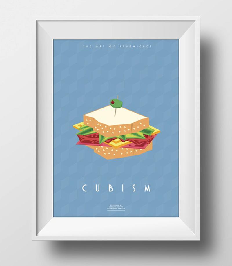 Искусство в сэндвичах