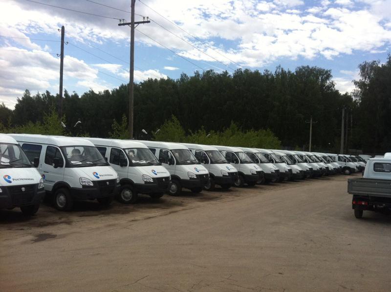 Брендированные автомобили «Ростелекома» курсируют по регионам России