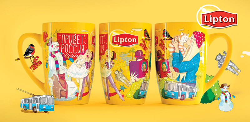lipton marketing project