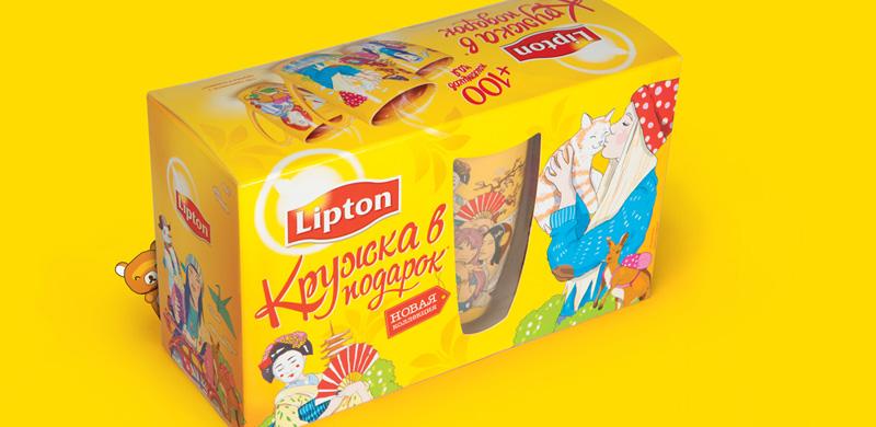 bowman s strategy clock of unilever lipton