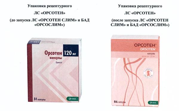 под видом бадов рекламируют лекарства, Орсотен, Орсослим