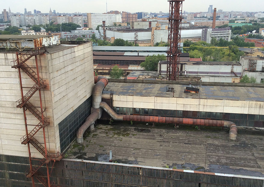территория завода Серп и Молот