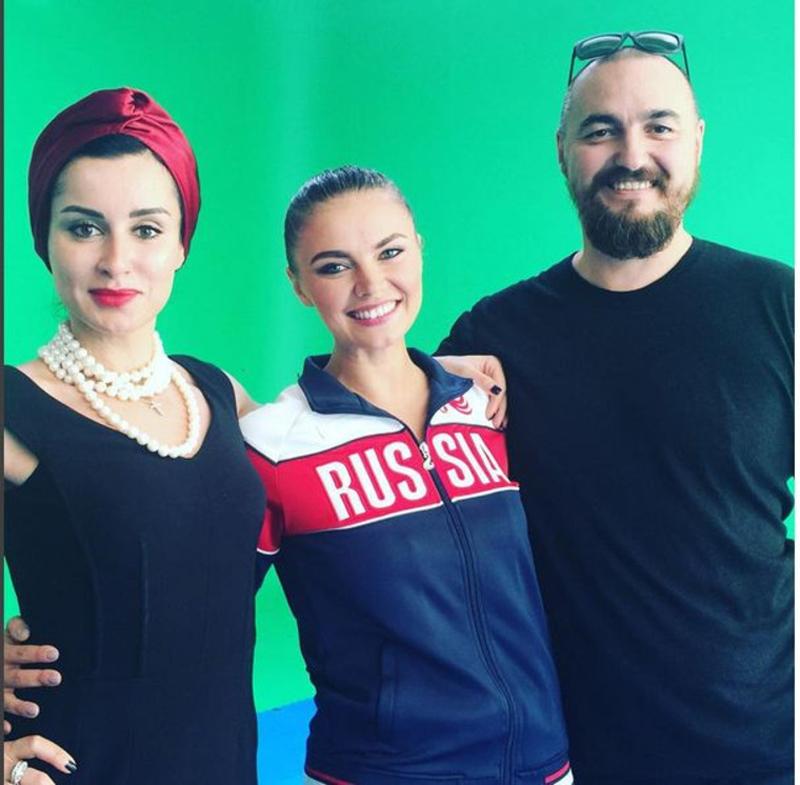 Алина Кабаева приняла участие в съемках для «Матч ТВ».