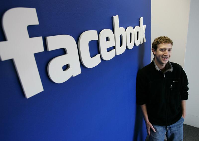 Facebook отчиталась о росте прибыли и пользователей.