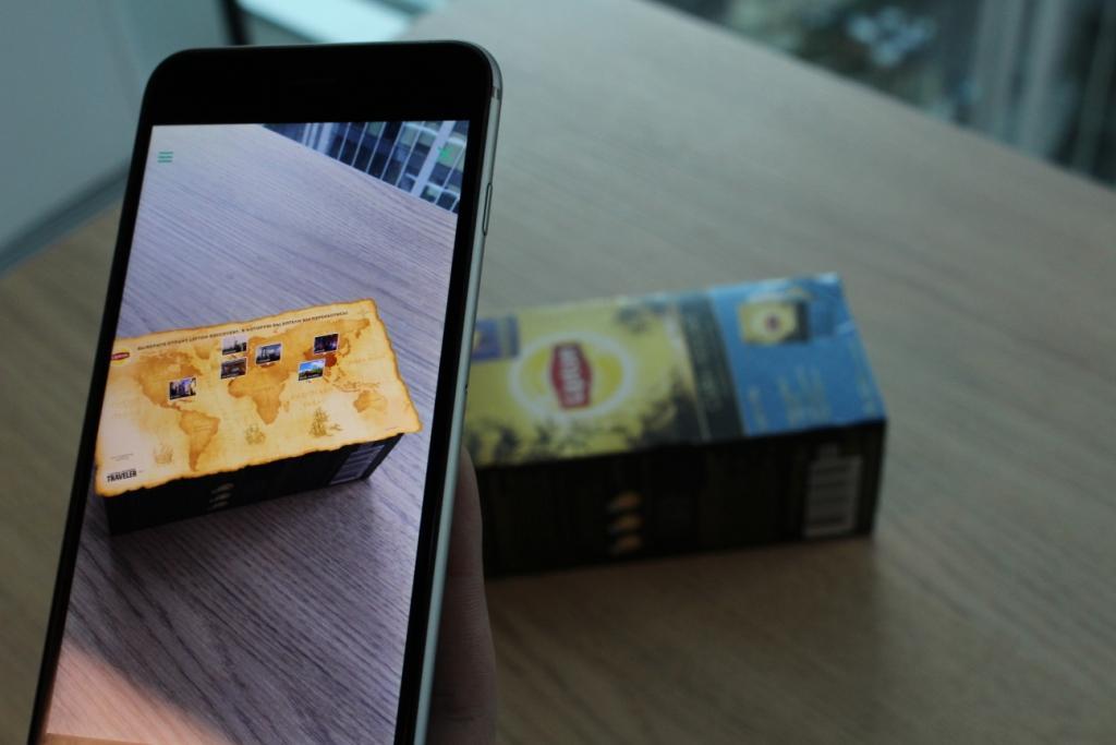 Упаковки чая Lipton стали интерактивными.