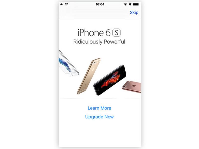 Apple разозлила пользователей старых iPhone назойливой рекламой новых.