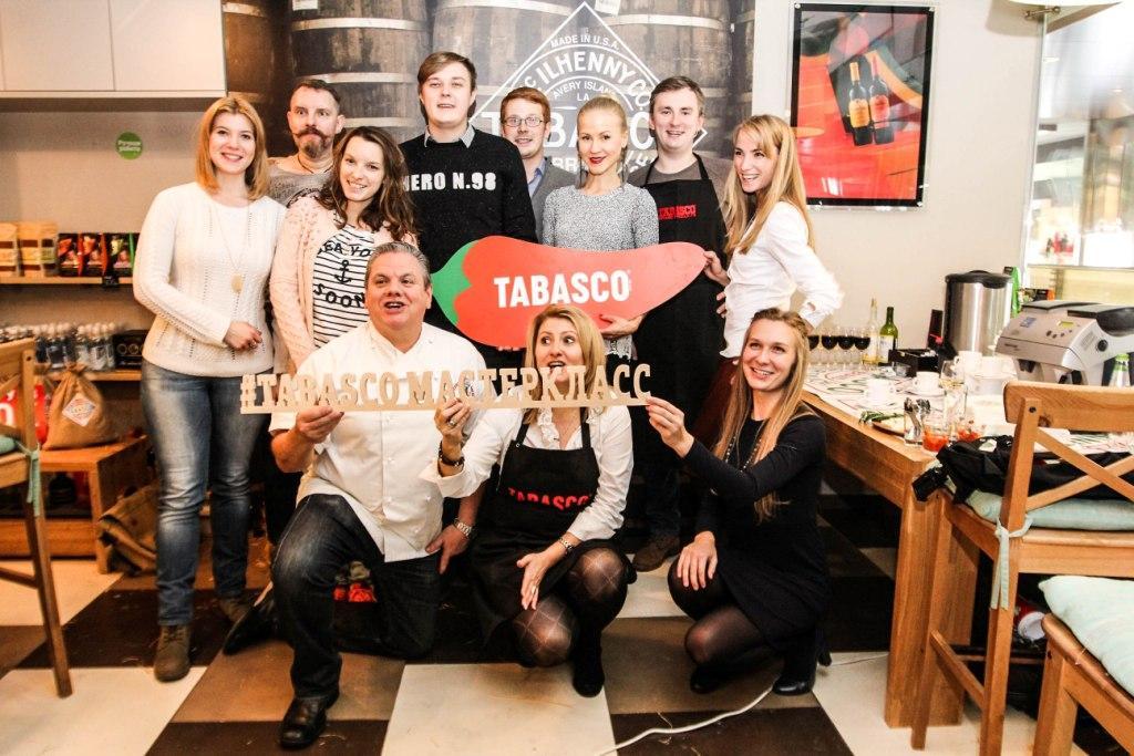 В Москве прошел первый кулинарный мастер-класс от шеф-повара Tabasco.