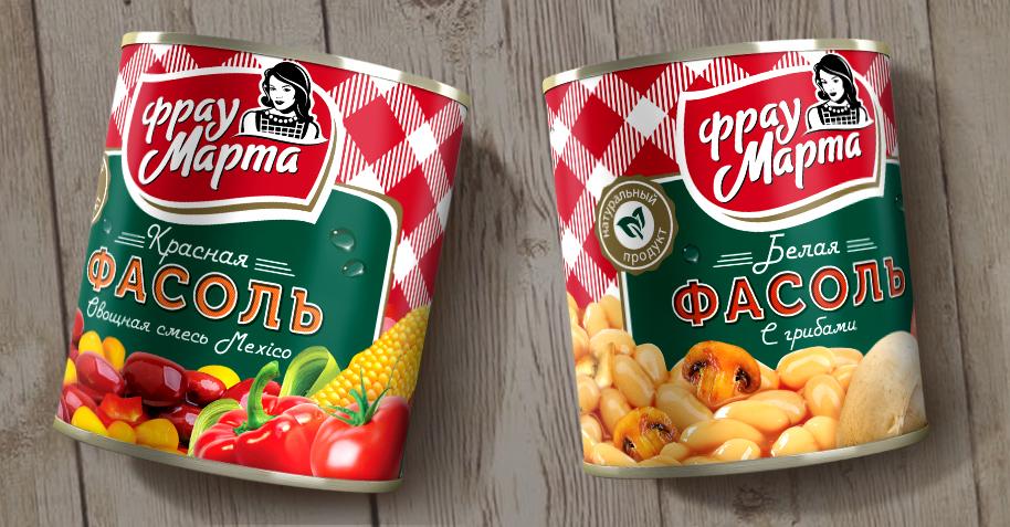 Брендинговое агентство DS1 обновило дизайн упаковки «Фрау Марта».