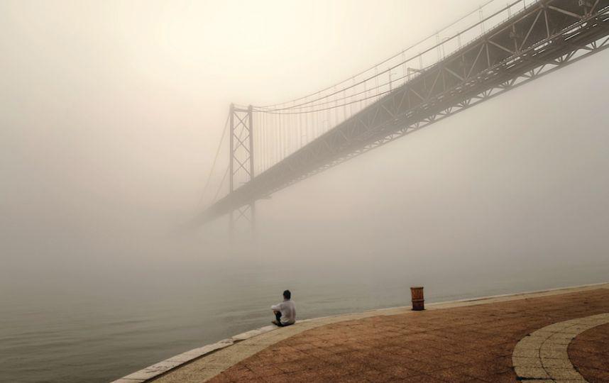 «Туманный Лиссабон», Эдуард Гордеев, фото-победитель в категории «Секреты города».