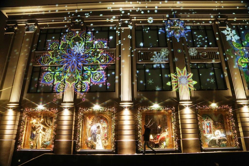 Как украсили Москву к новогодним праздникам.