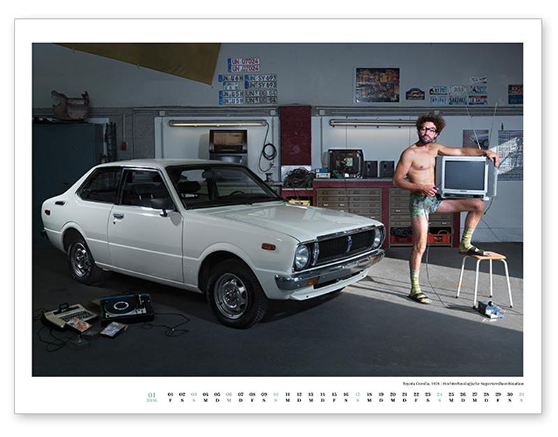 Januar, Toyota Corolla, 1978.