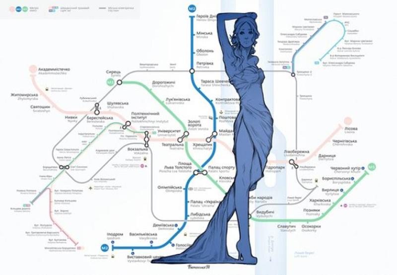 «Хуманизация веток метро — Киев»